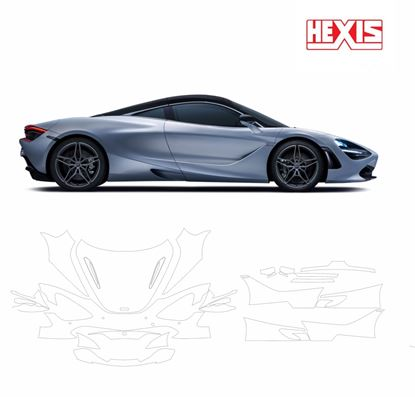 Picture of McLaren 720S Carbon Fibre Package 2017 Pre Cut PPF Front & Side kit