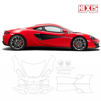 Picture of McLaren 540C 2016 Pre Cut PPF Front & Side kit
