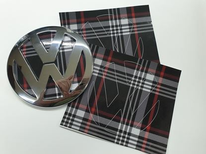 Picture of Polo MK4 & MK5 Badge Vinyl Inserts