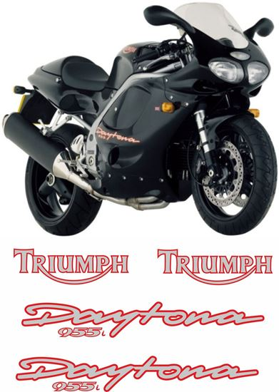 Picture of Triumph Daytona 955i  1999 replacement Decals / Stickers