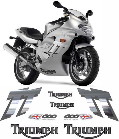Picture of Triumph TT 600 2000 - 2003 replacement  Decals / Stickers