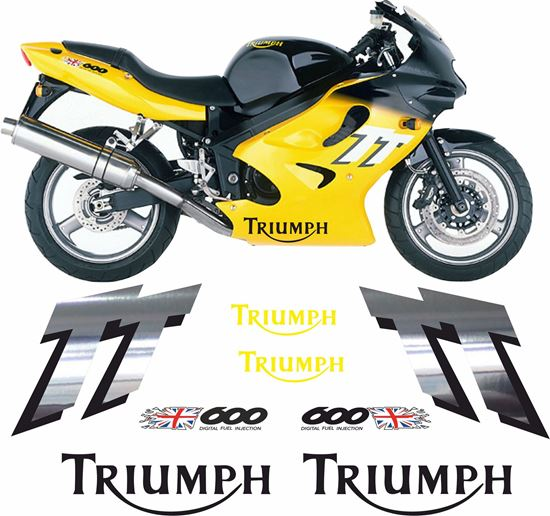 Picture of Triumph TT 600 2000 -2003 replacement  Decals / Stickers