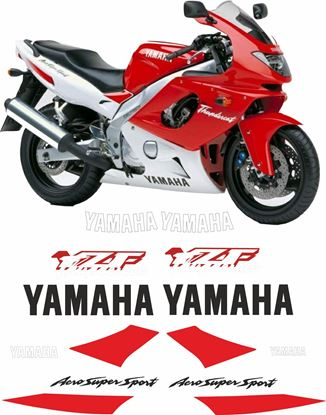 Picture of Yamaha YZF Thundercat  600R 1996 - 1997 Replacement Decals / Stickers