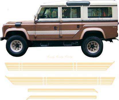 Picture of Defender 110 side Stripes / Stickers