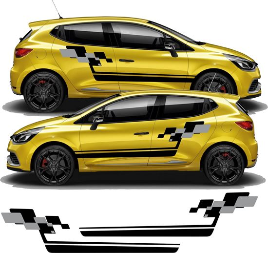 Picture of Renault Clio Sport side Stripes  / Stickers