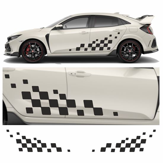 Picture of JDM Racing chequer Graphics