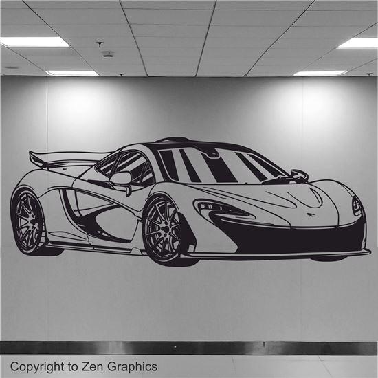 Picture of McLaren P1 Wall Art sticker