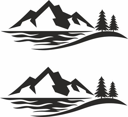 Picture of Camper General panel  Decals  / Stickers
