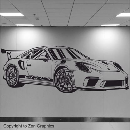 Picture of Porsche 911 GT3 RS Wall Art sticker