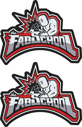 Picture of The Fab School general panel  Decals / Stickers