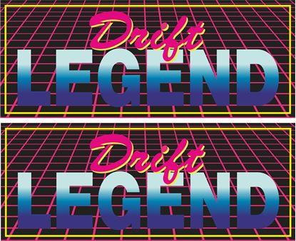 Picture of Drift Legend Decals / Stickers