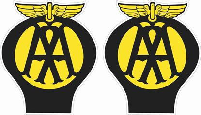"""Picture of """"AA"""" general panel / Glass Decals / Stickers"""