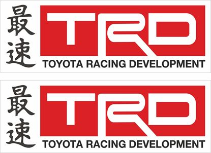 "Picture of ""TRD""  Decals / Stickers"