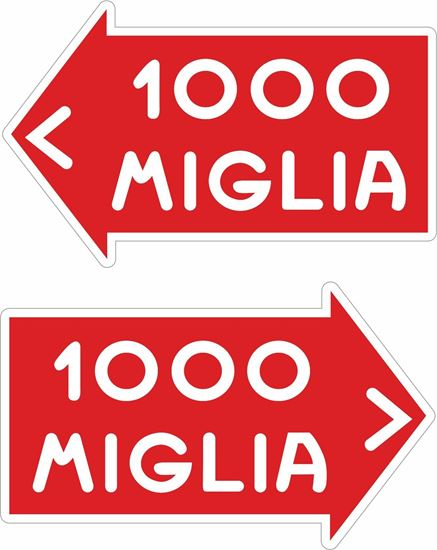 "Picture of ""1000 Miglia"" Decals / Stickers"