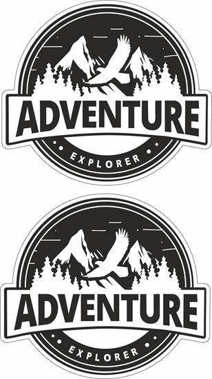 Picture of Adventure Explorer Decals / Stickers