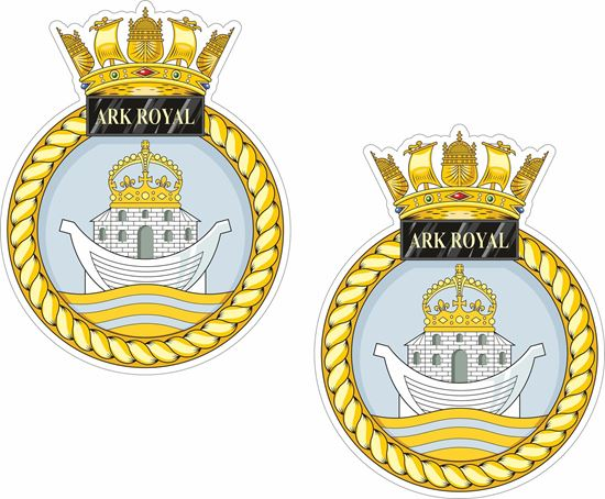Picture of HMS Ark Royal (R07), emblem Sticker