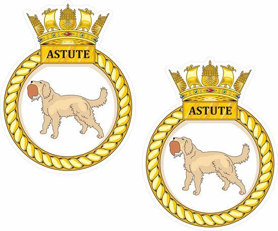 Picture of HMS Astute (S119), emblem Sticker