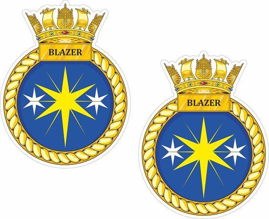 Picture of HMS Blyth (M111), emblem Sticker