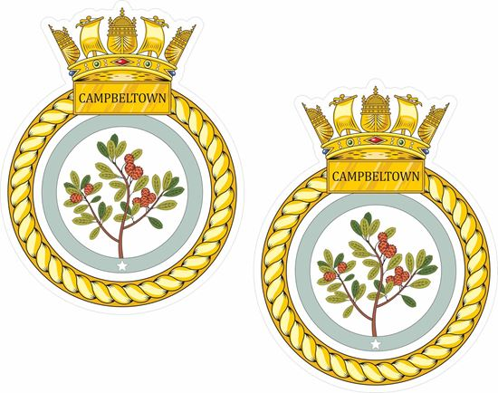 Picture of HMS Campbeltown (F86), emblem Sticker