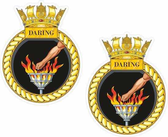 Picture of HMS Darling (D32), emblem Sticker