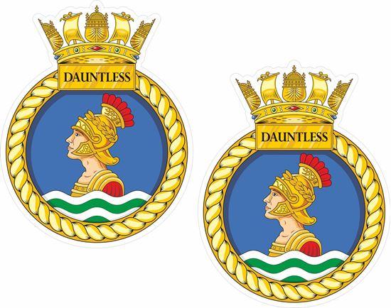 Picture of HMS Dauntless (D33), emblem Sticker