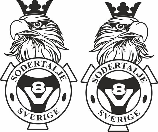 Picture of Scania Sodertalje Sverige  general Panel Decals / Stickers