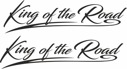 """Picture of Scania  """"King of the Road""""  Decals / Stickers"""