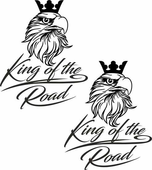 """Picture of Scania Griffin """"King of the Road"""" general Panel Decals / Stickers"""