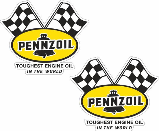 "Picture of ""Pennzoil"" Decals / Stickers"