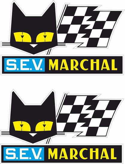 """Picture of """"S.E.V. Marchal"""" Decals / Stickers"""