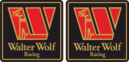 "Picture of ""Walter Wolf Racing""  Decals / Stickers"