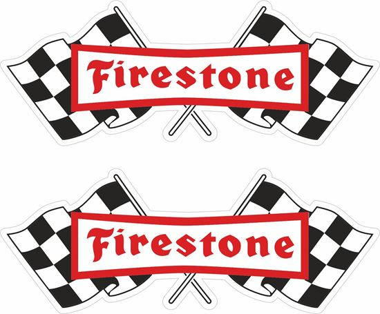 "Picture of ""Firestone"" Decals / Stickers"