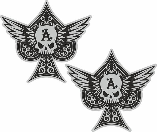 Picture of Ace of Spades general panel  Decals / Stickers
