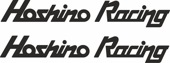 """Picture of """"Hoshino Racing""""  Decals / Stickers"""