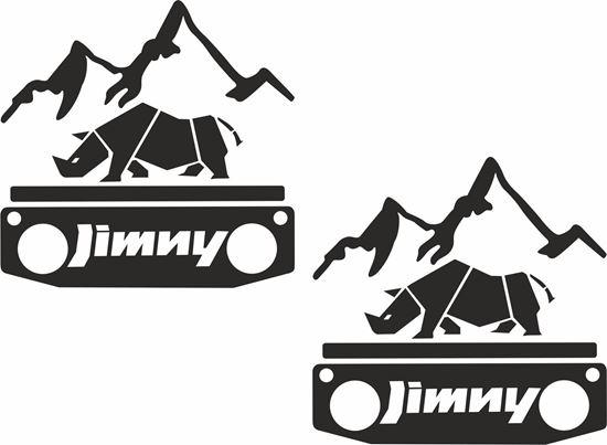Picture of Suzuki Jimny Decals / Stickers