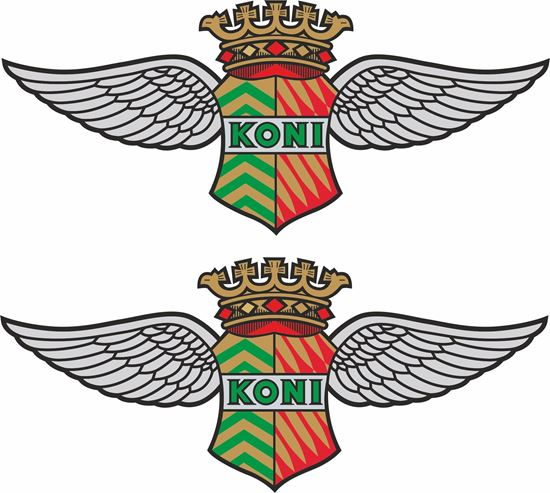 "Picture of ""Koni"" Decals / Stickers"