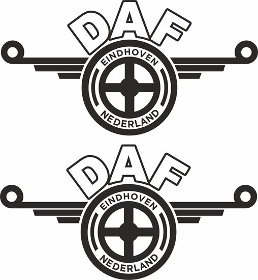 Picture of DAF general panel / Glass  Decals / Stickers