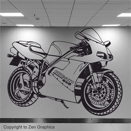 Picture of Ducati 916 Desmoquattro Wall Art sticker