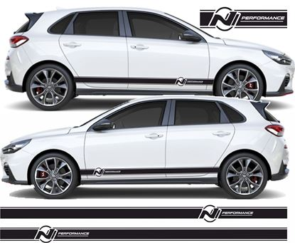Picture of Hyundai i30N side Stripes  / Stickers