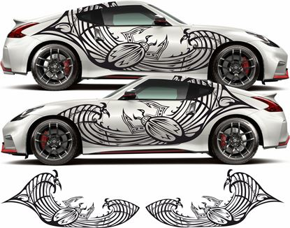 Picture of Nissan 350Z / 370Z side Graphics /  Stickers