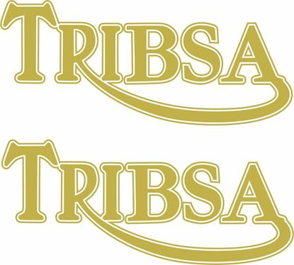 "Picture of ""Tri Bsa"" Decals / Stickers"