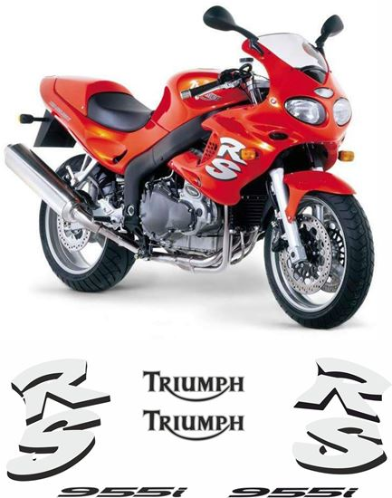 Picture of Triumph Sprint  RS 955 2000 - 03 replacement Decals / Stickers