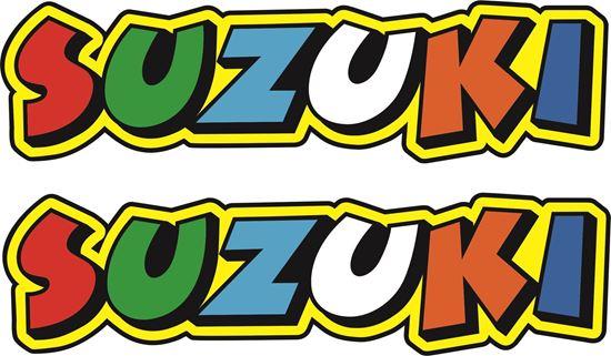 """Picture of """"Suzuki"""" Decals / Stickers"""