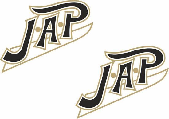 "Picture of ""J.A.P"" restoration Decals / Stickers"