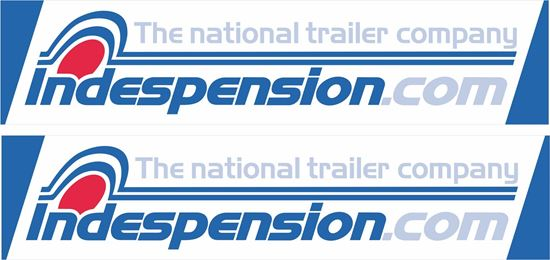 Picture of Indespension Trailers Stickers / Decals