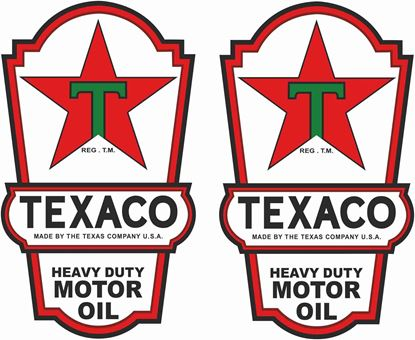 Picture of Texaco Decals / Stickers