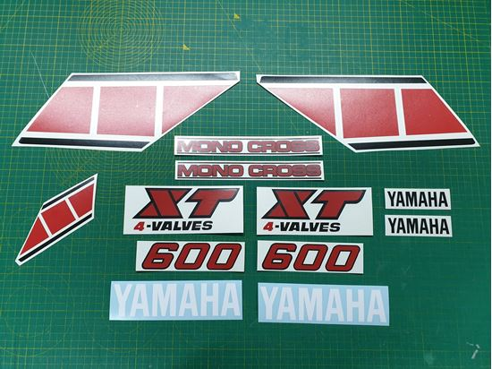 Picture of Yamaha XT600  1984 - 1989  Replacement Decals / Stickers