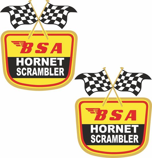 Picture of Hornet Scrambler Decals / Stickers