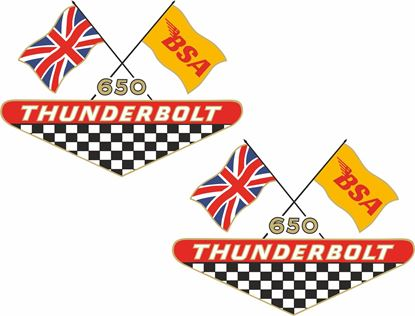 Picture of BSA 650 Thunderbolt Decals / Stickers5