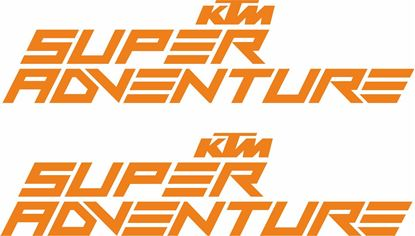 "Picture of ""KTM Super Adventure""  Decals / Stickers"